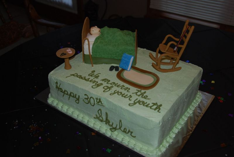 Funny Birthday Cakes For Men Turning 30