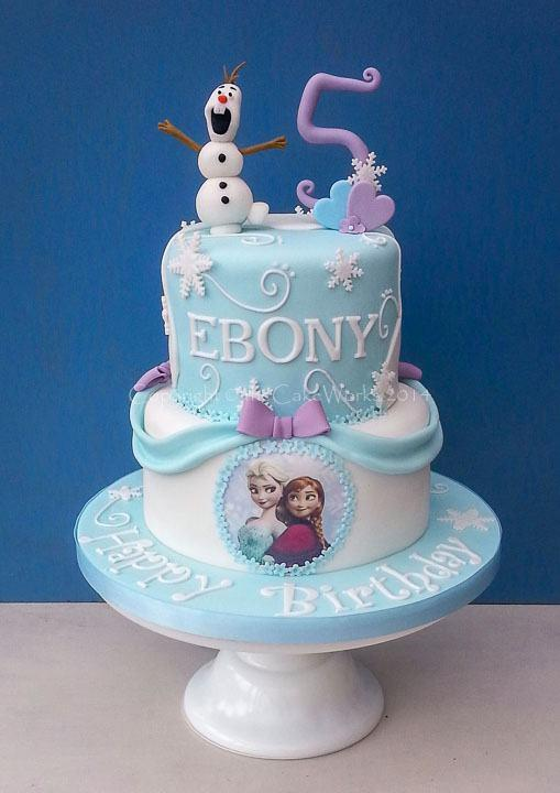 6 Birthday Cakes For 5 Year Old Frozen Photo Cake Girl Frozen For