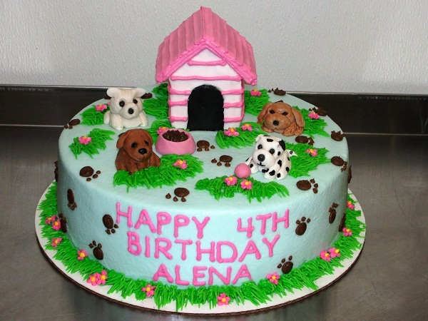 Miraculous 11 Dog Cakes For Girls Photo Little Girl Puppy Birthday Cake Funny Birthday Cards Online Fluifree Goldxyz