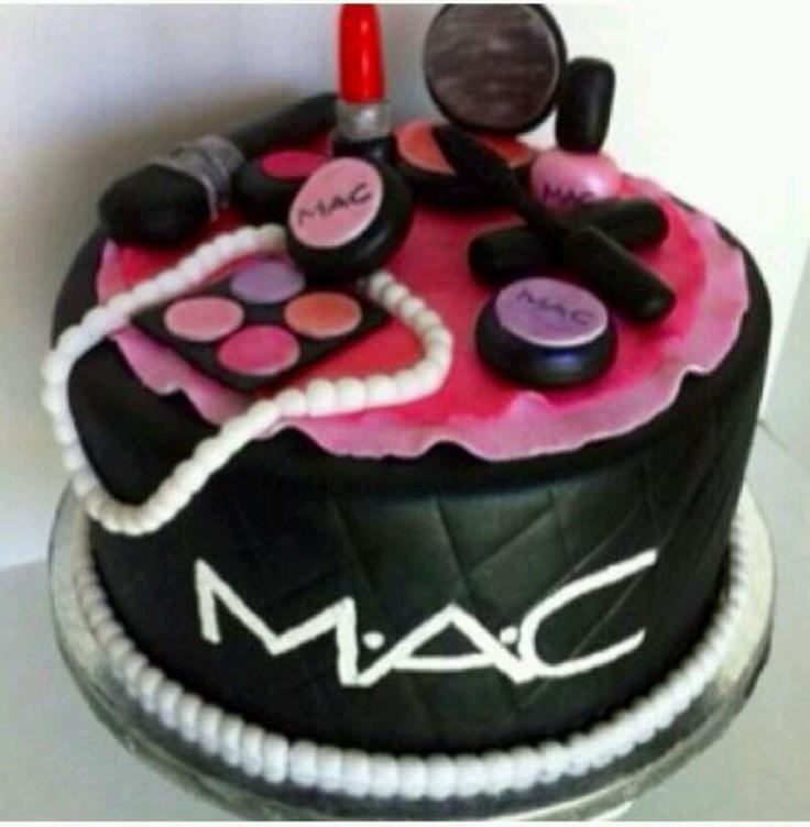 Strange 10 Mac Make Cakes Photo Mac Makeup Cake Mac Birthday Cake And Personalised Birthday Cards Sponlily Jamesorg