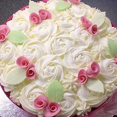 Astonishing 12 Birthday Cakes Most Beautiful Rose Photo Most Beautiful Funny Birthday Cards Online Barepcheapnameinfo