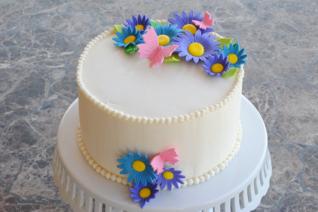 Awesome 12 Simple Birthday Cakes Woman Photo Simple Birthday Cake Ideas Funny Birthday Cards Online Overcheapnameinfo