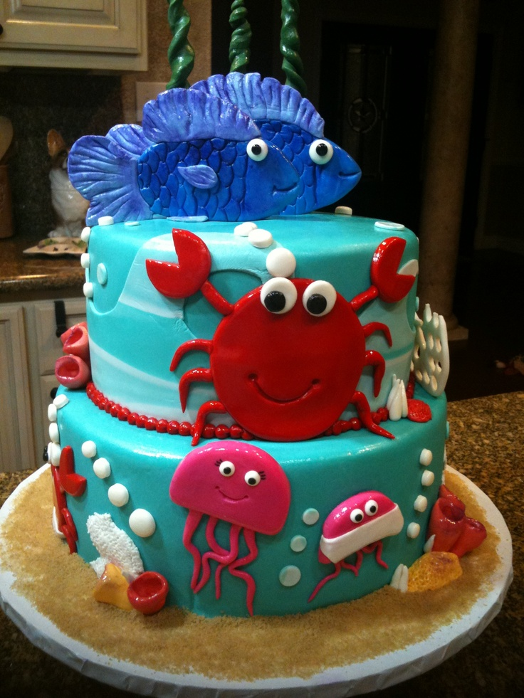 11 Baby Cakes With Crabs Photo Crab Baby Shower Cake Crab