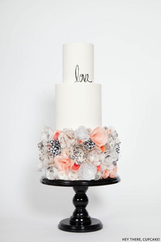 12 like paper cakes photo diy paper happy birthday cake wafer wafer paper flower cake mightylinksfo