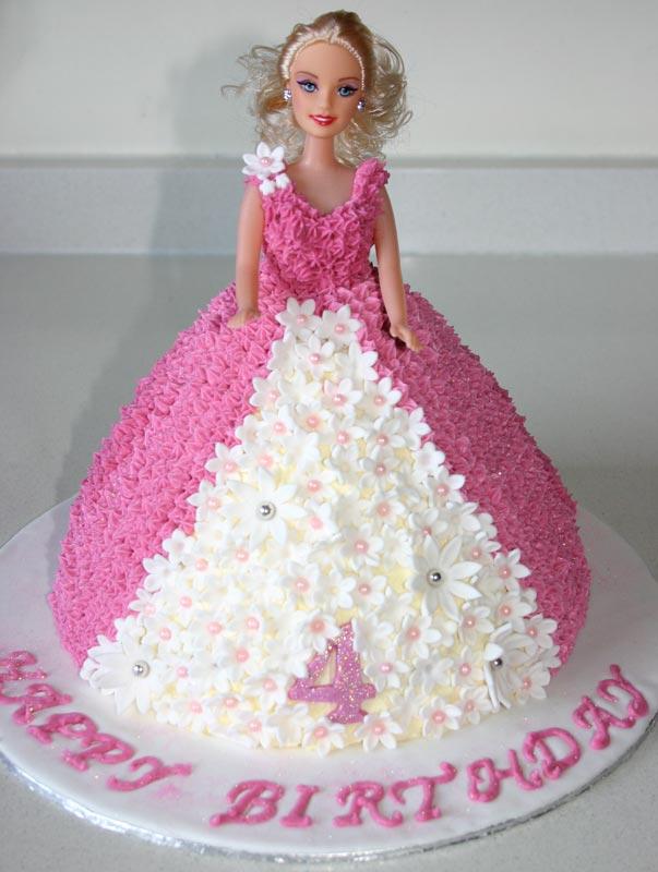 11 Cute Barbie Cakes Photo Walmart Barbie Birthday Cakes Barbie