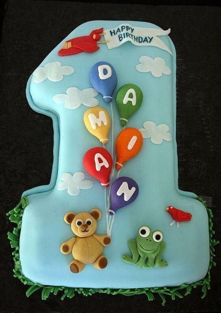 10 Baby Boy Birthday Cakes 2017 Photo Baby Boy Birthday Cake 1