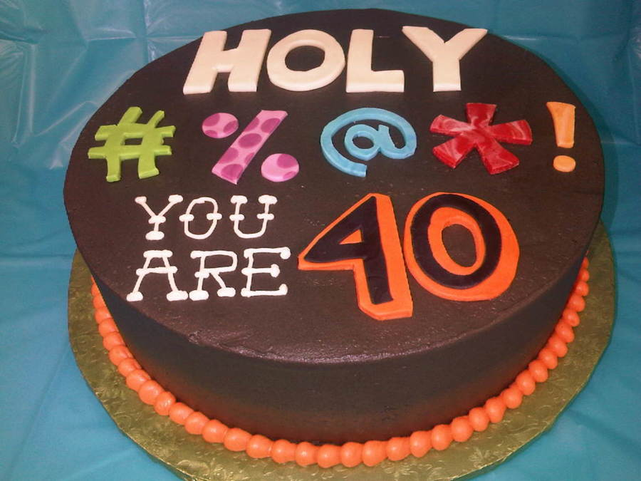 10 Funny Over The Hill 40th Birthday Cakes Photo 60th The Birthday