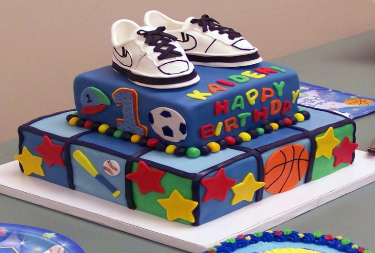11 Homemade Birthday Cakes For One Year Old Boys Photo