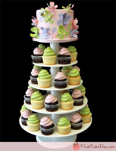 75th Birthday Cupcake Cakes