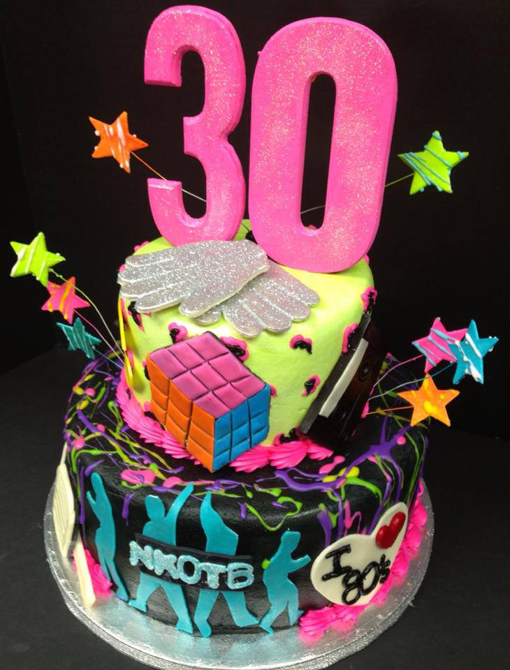 Sensational 10 Eighties Themed Cakes Photo 80S Themed Birthday Cake 80S Birthday Cards Printable Riciscafe Filternl