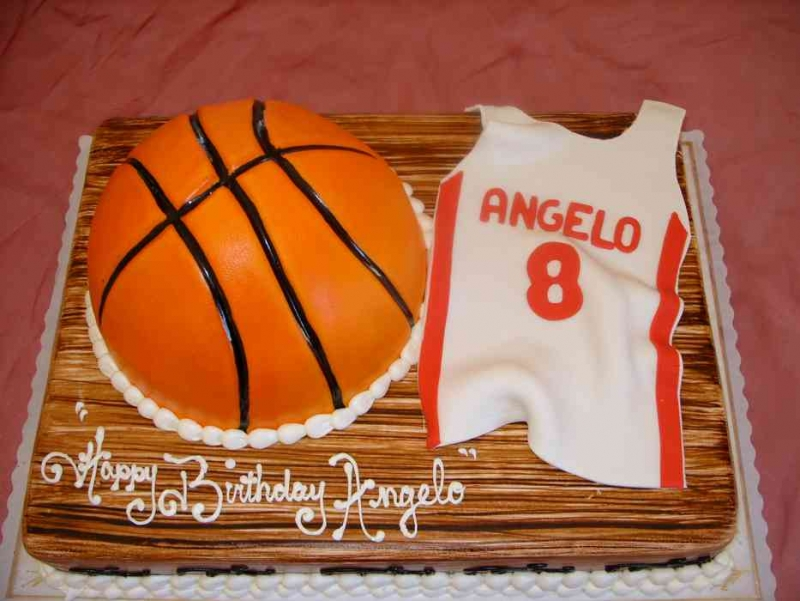 Remarkable 11 Team Basketball Themed Cakes Photo Basketball Birthday Cake Birthday Cards Printable Nowaargucafe Filternl
