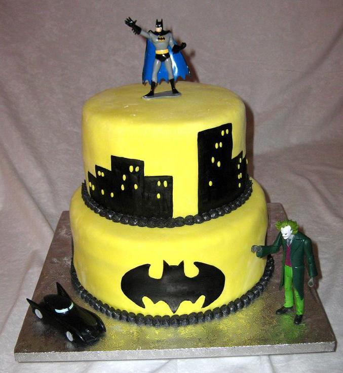 Astounding 12 Batman Birthday Cakes For Boys Photo Batman Boys Birthday Birthday Cards Printable Opercafe Filternl