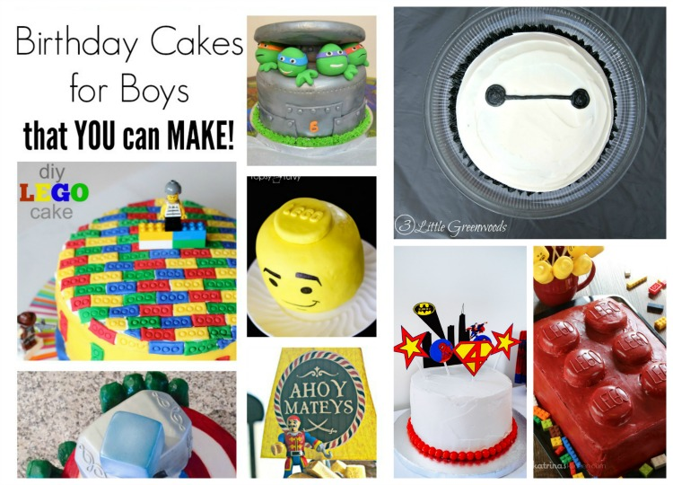 Easy To Make Boy Birthday Cakes