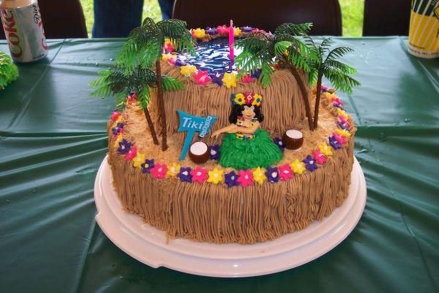 Miraculous 7 Easy Luau Birthday Cakes Photo Luau Birthday Cake Hawaiian Funny Birthday Cards Online Fluifree Goldxyz
