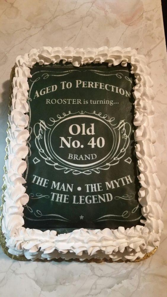 Fine 12 Jack Daniels 40Th Birthday Cakes Photo 40Th Birthday Cake Funny Birthday Cards Online Kookostrdamsfinfo
