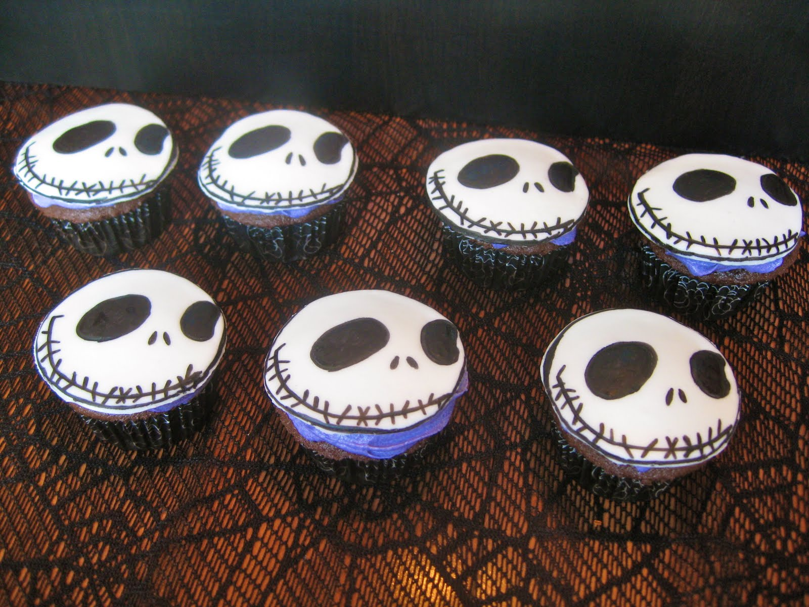 13 Jack Skeleton Cake Cupcakes Photo Jack Skellington Birthday