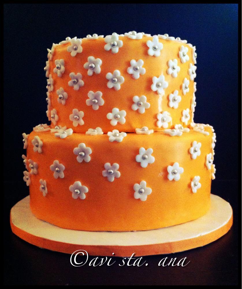 Tremendous 7 Cute Orange Bday Cakes Photo Orange Birthday Cake Orange Funny Birthday Cards Online Aeocydamsfinfo