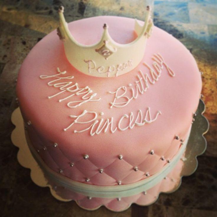 Cool 8 Fondue Birthday Cakes Crown Photo Pink Fondant Cakes With Funny Birthday Cards Online Kookostrdamsfinfo