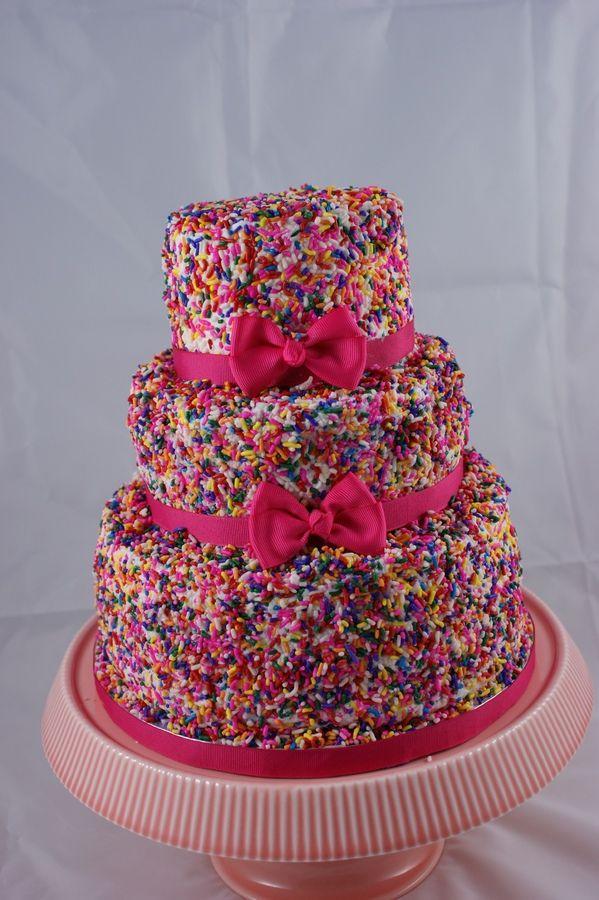 Sprinkle Birthday Cakes Pinterest