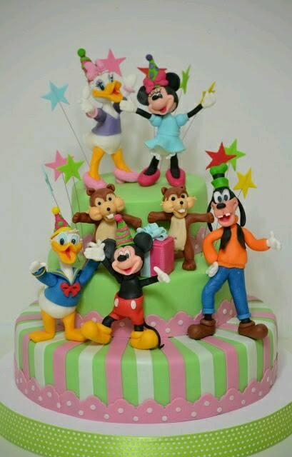 Walt Disney World Mickey Mouse Birthday Cake