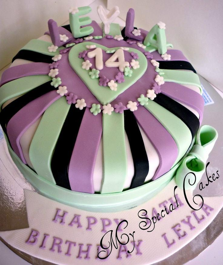 Peachy 12 14Th Birthday Cupcake Cakes Photo 14Th Birthday Cake 14Th Personalised Birthday Cards Veneteletsinfo