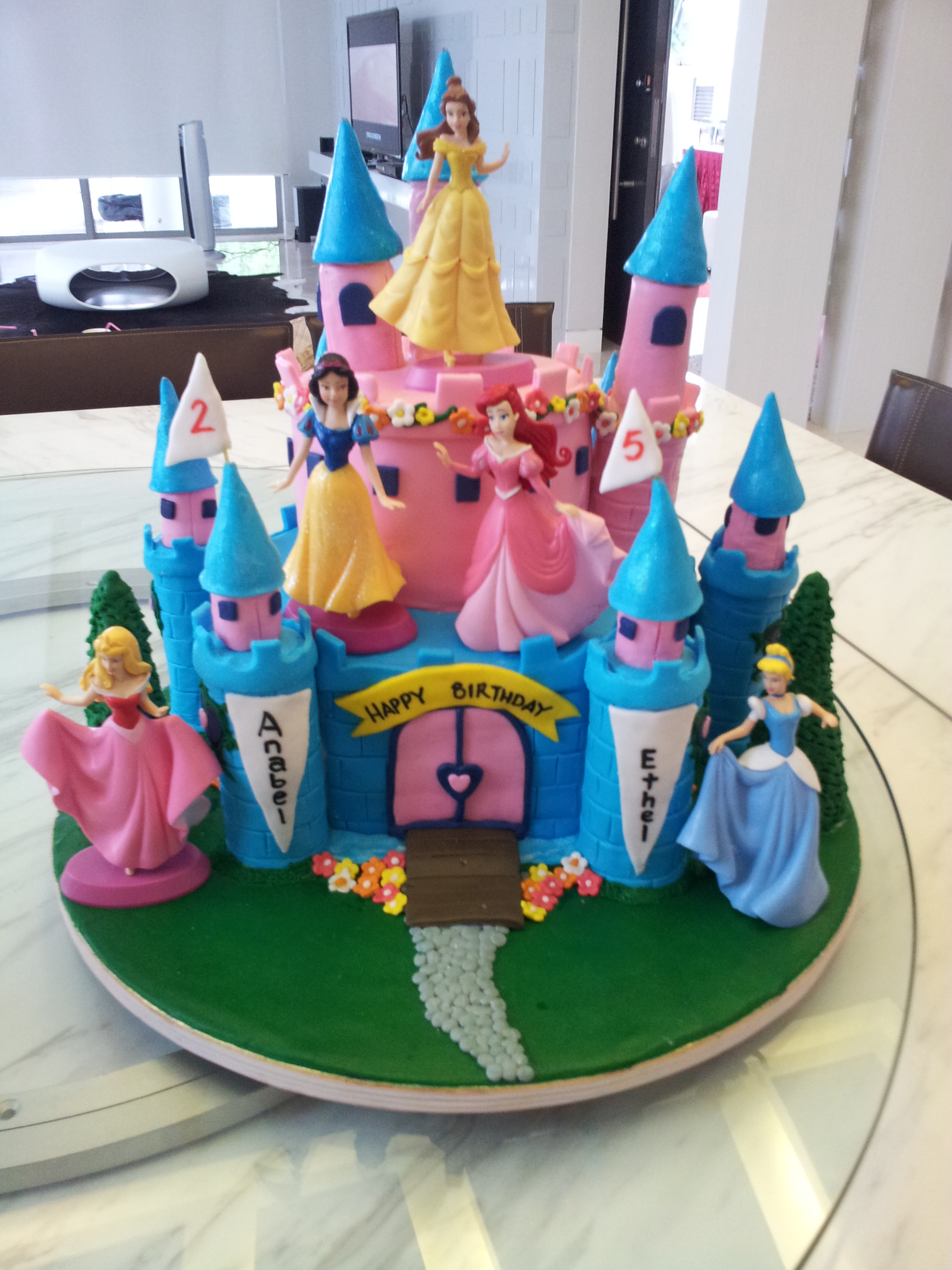 5 Year Old Girl Birthday Cake Ideas