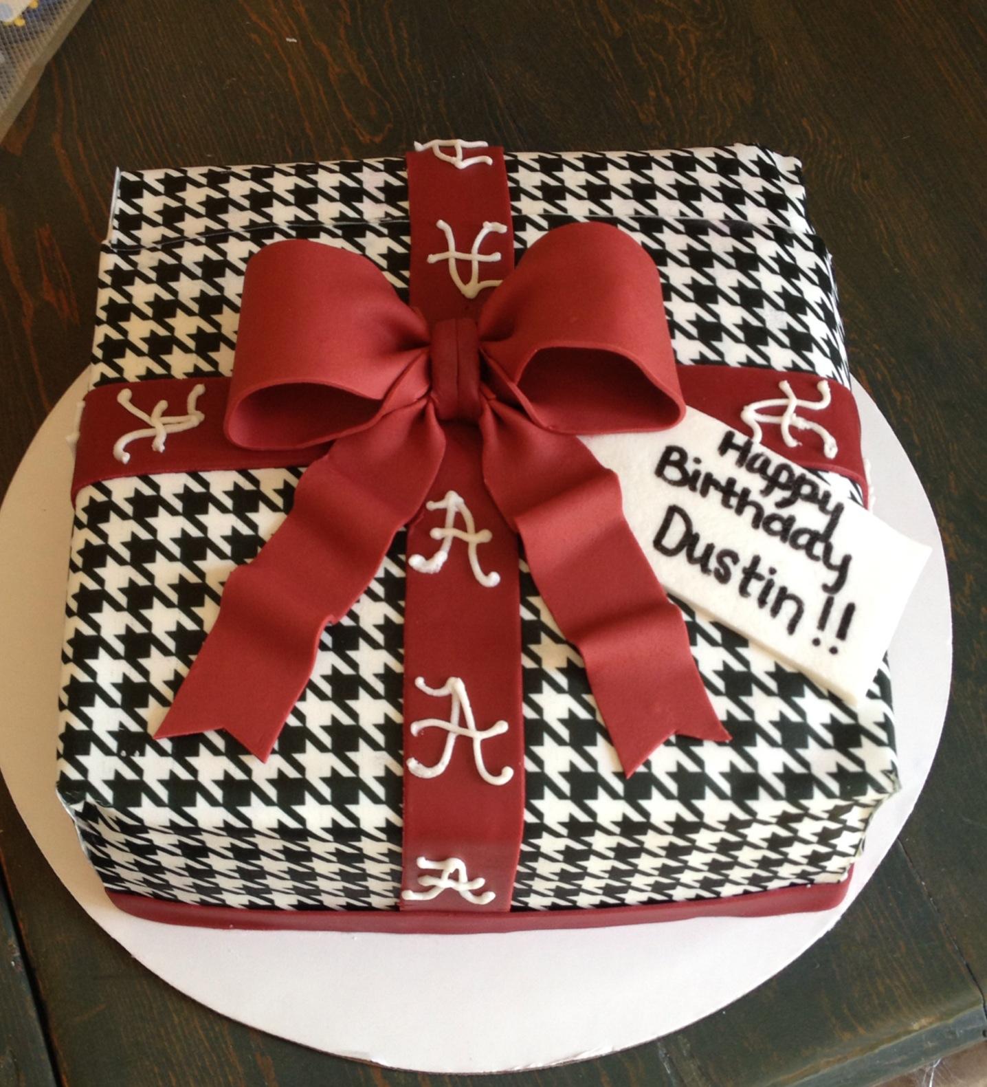 Outstanding 12 Alabama Crimson Tide Happy Birthday Cakes Photo Alabama Personalised Birthday Cards Veneteletsinfo