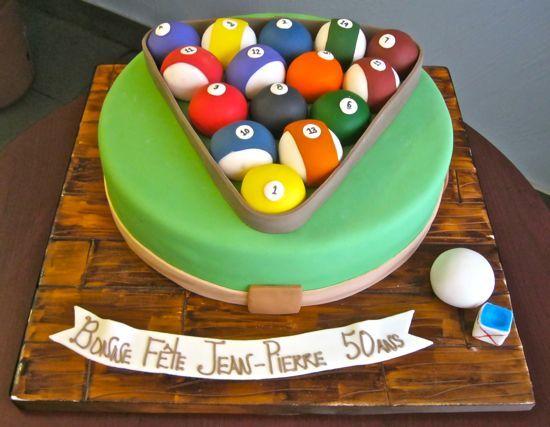 Stupendous 11 Round Pool Table Themed Cakes Photo Pool Table Birthday Cake Personalised Birthday Cards Akebfashionlily Jamesorg