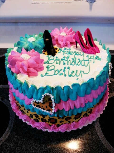 Happy 14th Birthday Cake