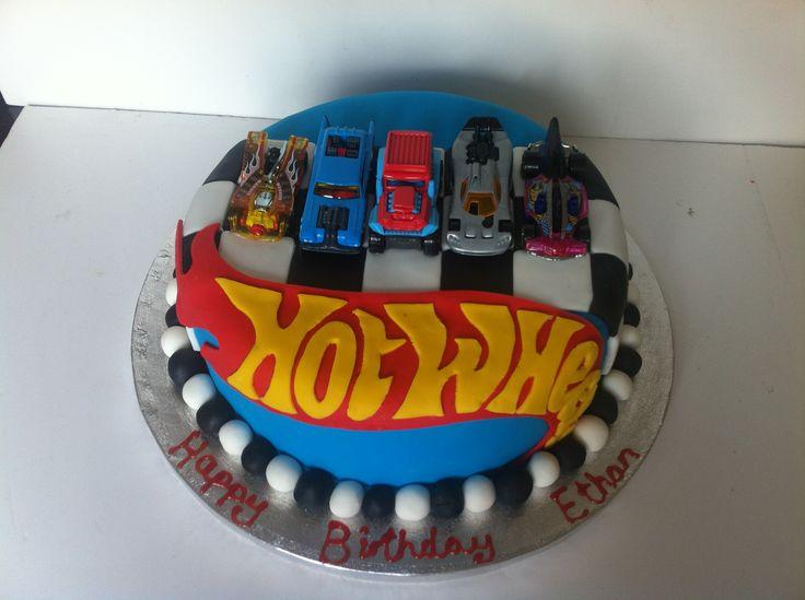 11 1st Birthday Cakes Hot Wheels Photo Hot Wheels Birthday Cake