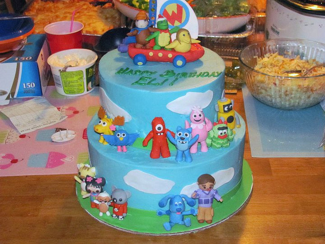 Cool 6 Nick Jr Cakes Photo Nick Jr Birthday Cake Oswald The Octopus Funny Birthday Cards Online Alyptdamsfinfo