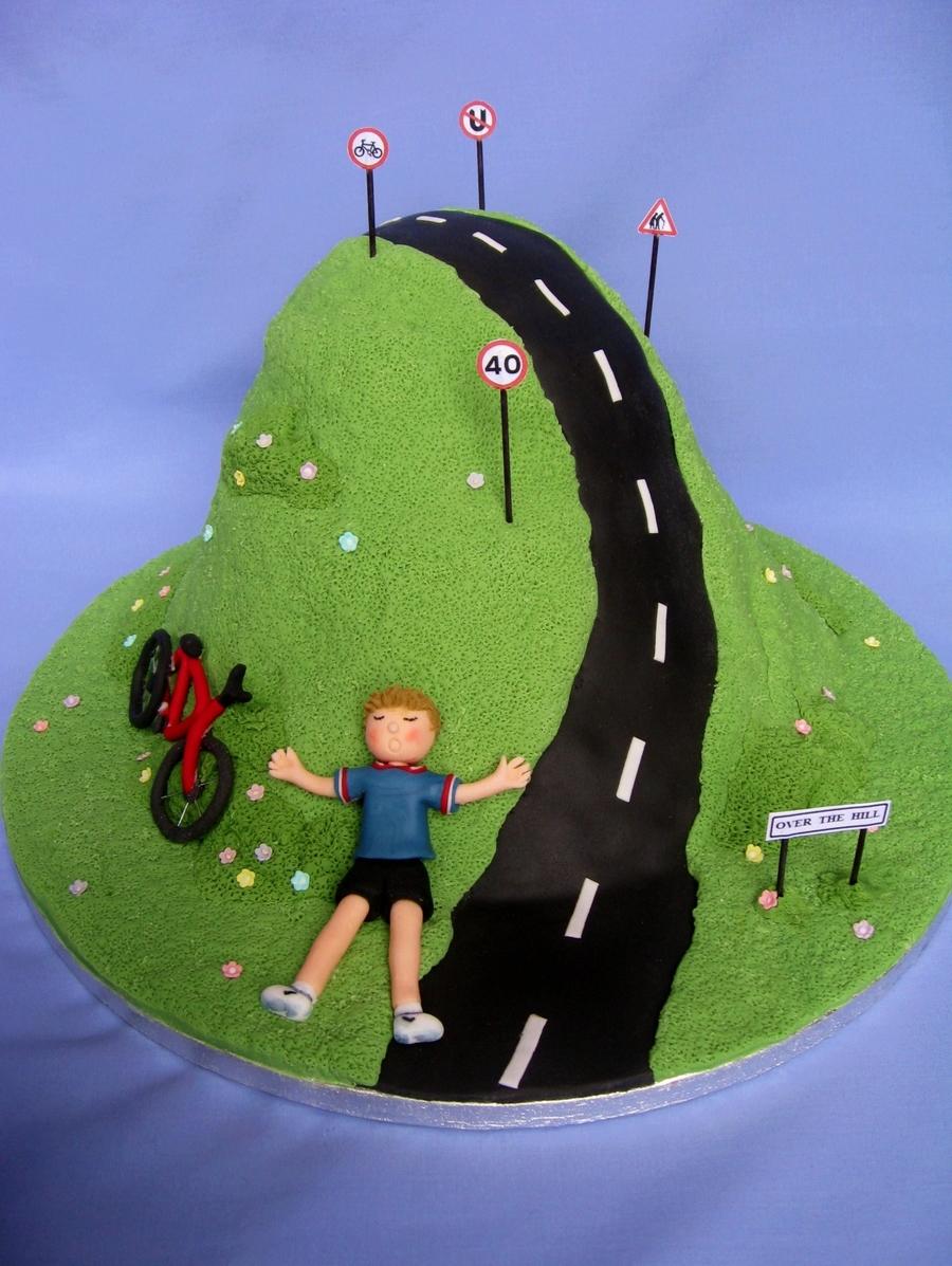 Terrific 9 Over The Hill Cakes Mens Photo Man 50Th Birthday Cake Ideas Personalised Birthday Cards Vishlily Jamesorg