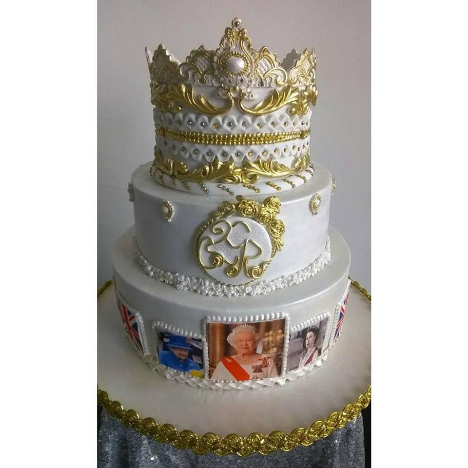 Queen Elizabeth 90th Birthday Cake