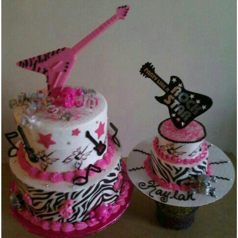 11 Rock And Roll Birthday Cakes Kids Photo Rock And Roll Kids