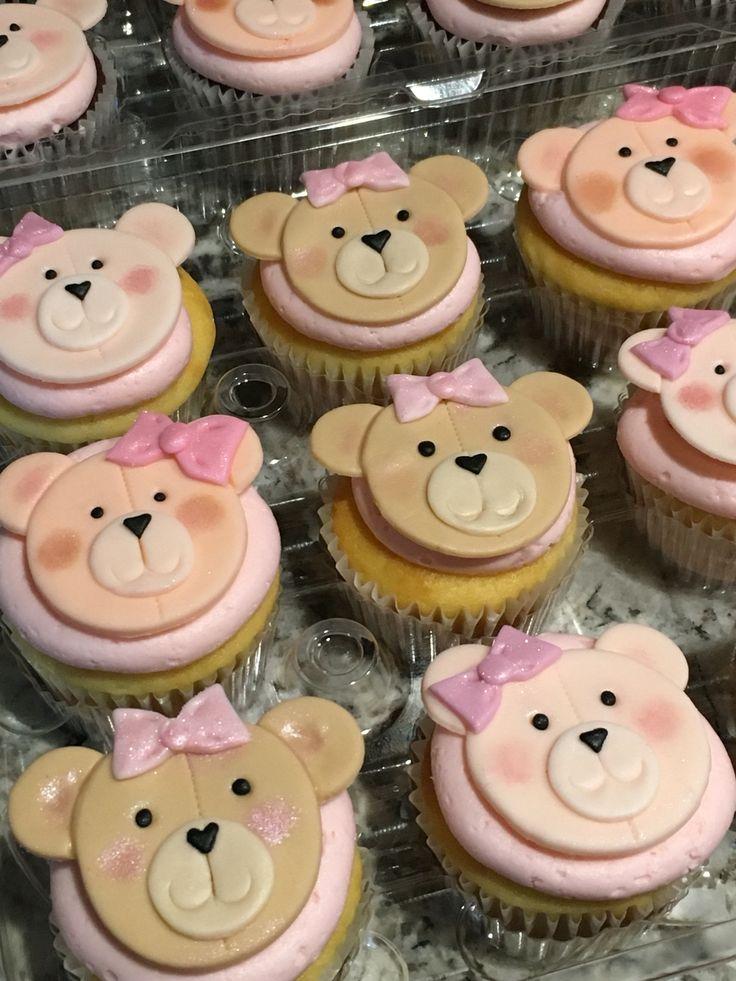 4586079b0a2 Bear Cupcakes via. Speedy Gonzales Birthday Cake