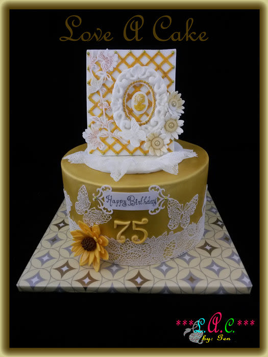 12 75th Birthday Cakes Jewelry Photo