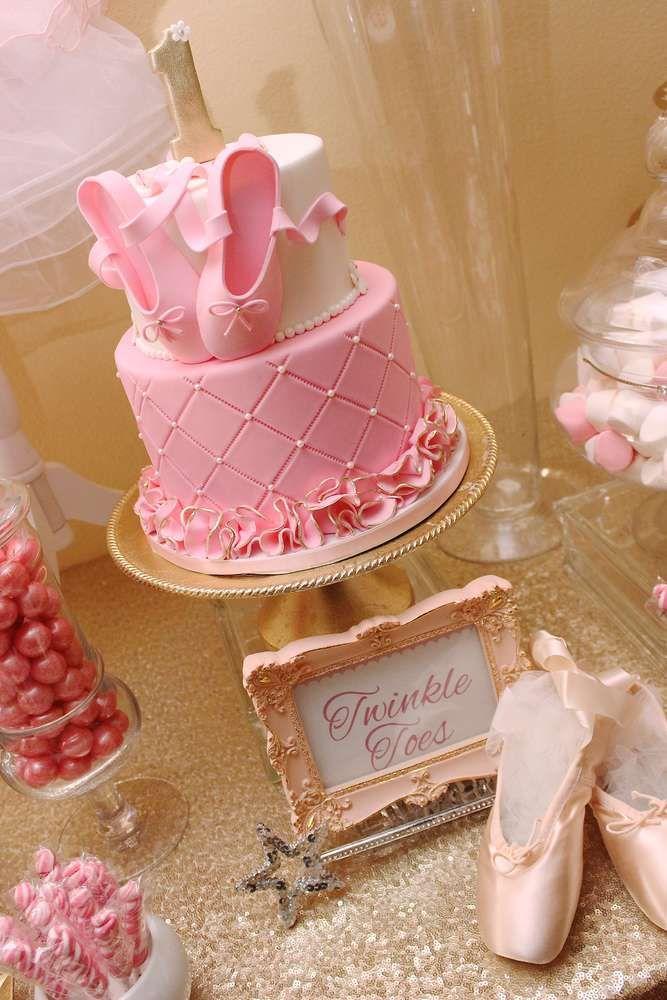9 Ballet Girls 14 Birthday Cakes Photo Ballerina Birthday Cake