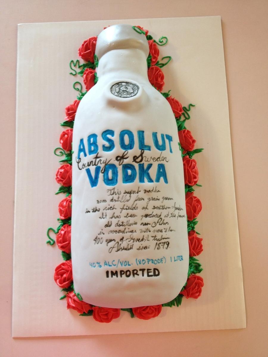 Stupendous 10 Sky Vodka Birthday Cakes Photo Birthday Cake With Vodka Personalised Birthday Cards Xaembasilily Jamesorg