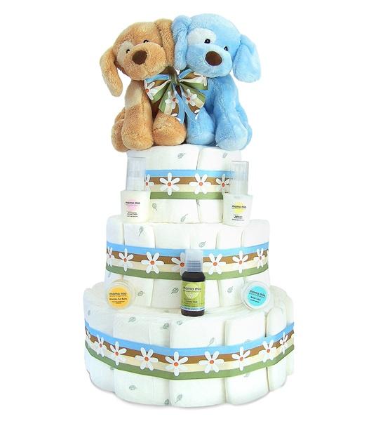 7 Twin Baby Boy Diaper Cakes Photo Baby Boy Sports Diaper Cake