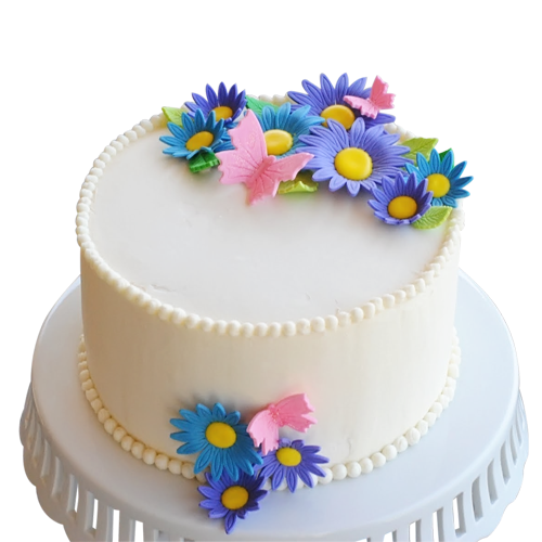 10 Round Birthday Cakes For Adult Women Photo
