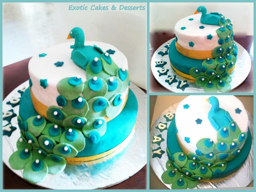 Surprising 10 Exotic Happy Birthday Cakes Photo Exotic Birthday Cakes Funny Birthday Cards Online Overcheapnameinfo