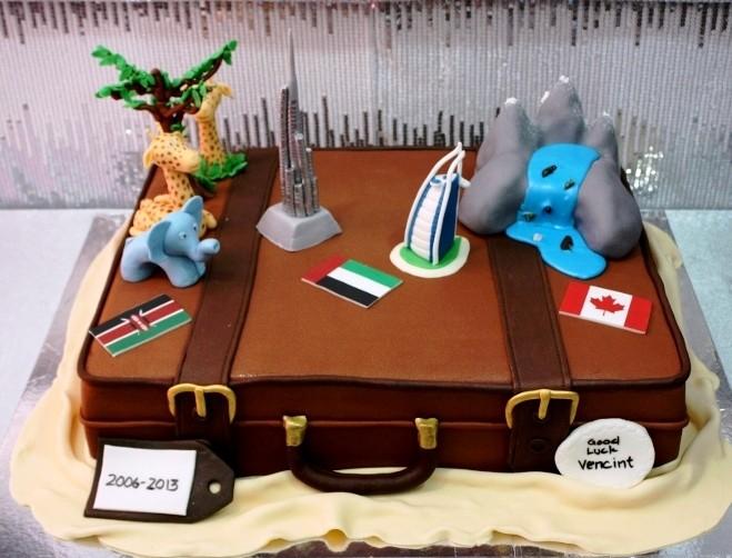 9 Fare Well Birthday Cakes Photo Goodbye Cake Ideas Fare Well