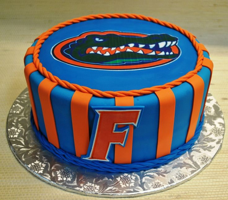 10 University Of Florida Gator Cakes Photo Florida Gators Birthday