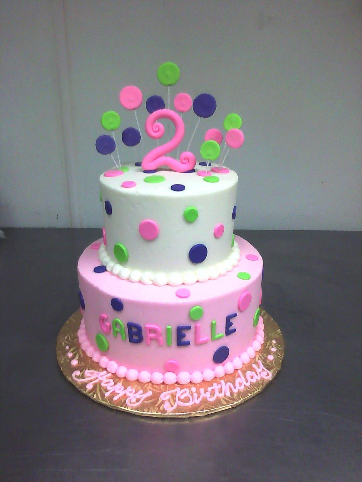 11 2nd Birthday Party Cakes Photo Girl 2nd Birthday Cake Moon And
