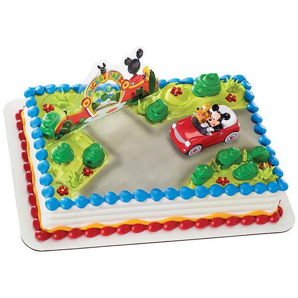 Mickey Mouse Birthday Cake Kit