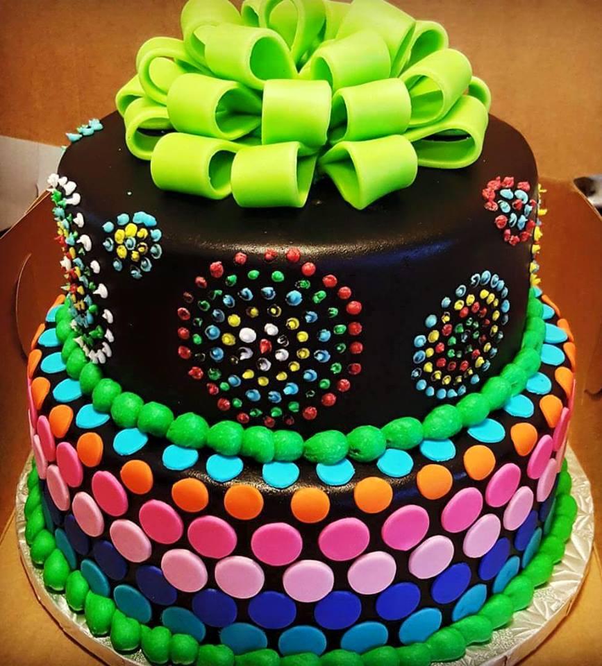 12 Neon Sheet Cakes For Girls Photo Neon Birthday Sheet Cakes