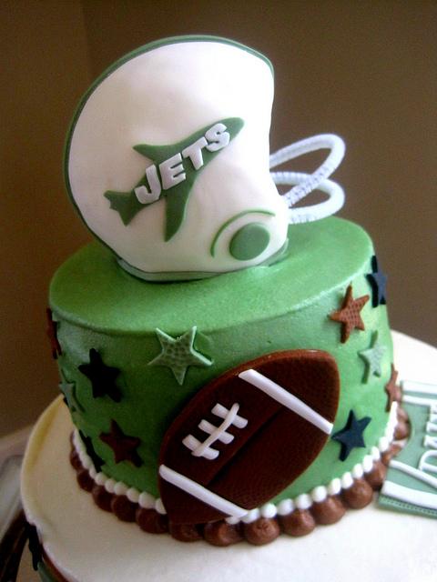 Brilliant 11 Birthday Cakes For Men New York Jets Photo New York Jets Funny Birthday Cards Online Amentibdeldamsfinfo