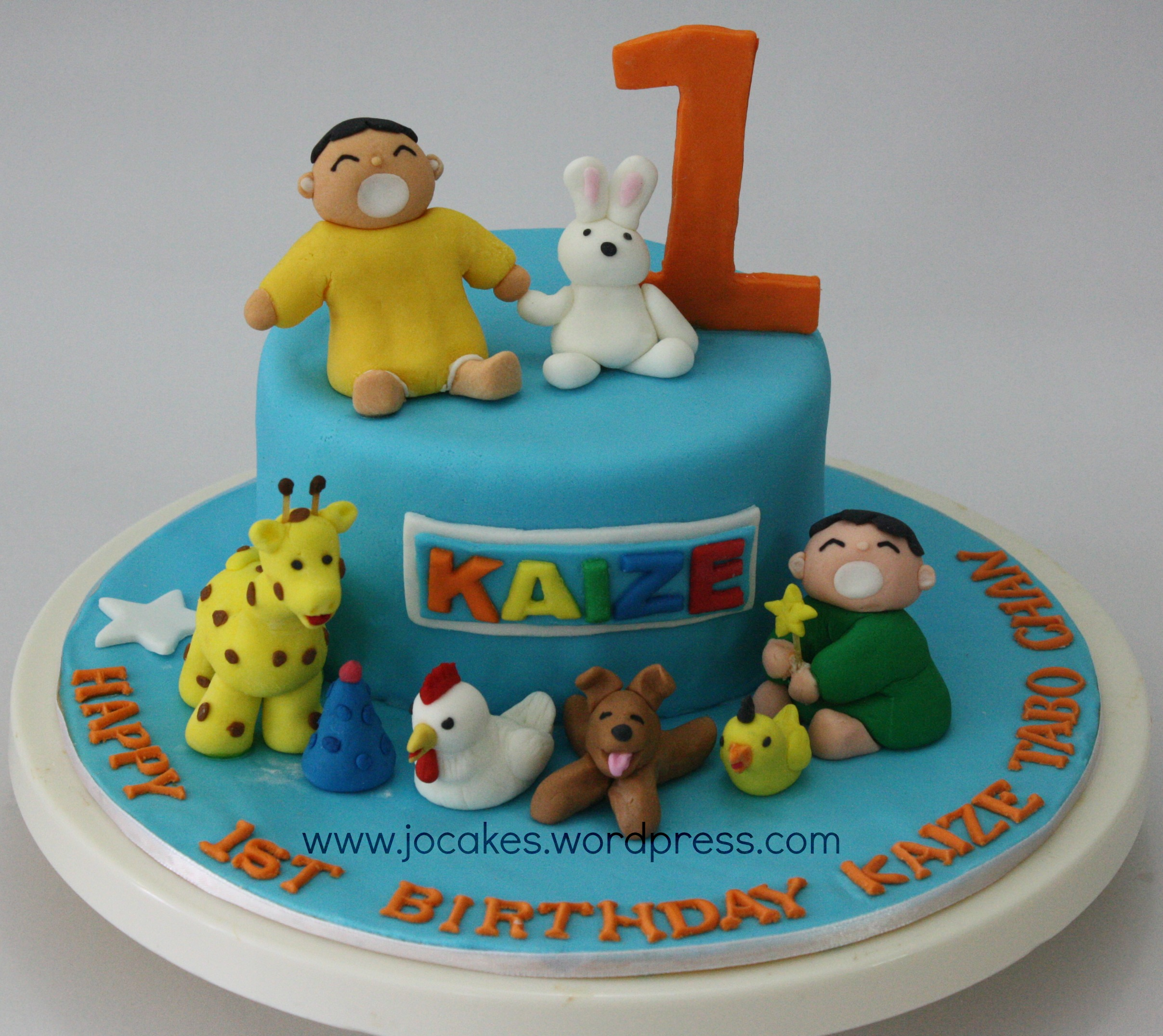8 For One Year Old Boy Birthday Cakes Photo