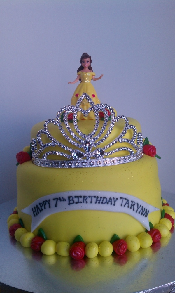 13 Disney Belle Birthday Cakes Photo Disney Princess Belle