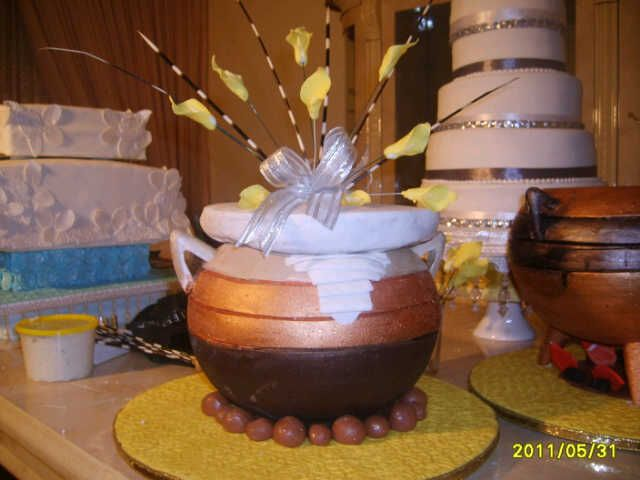 Traditional African Wedding Cakes , Wedding Cake Flavors